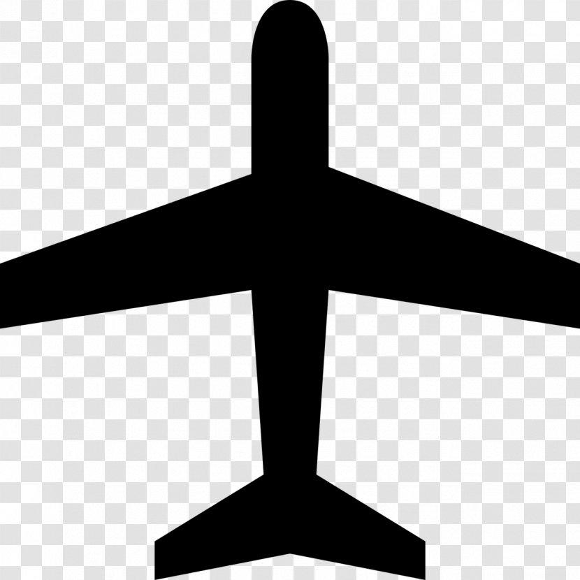 Airplane Air Travel Aircraft Flight Furniture Icon Vector