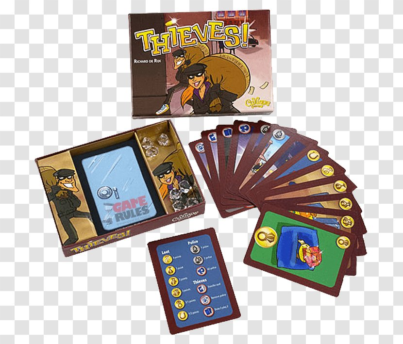 Card Game ACD Distribution Video - Thieves Transparent PNG
