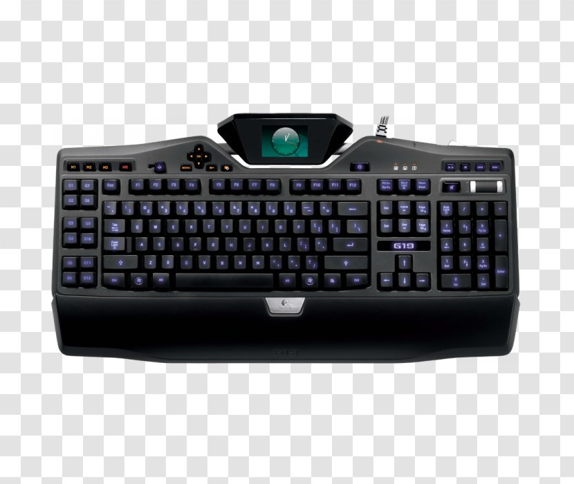 Computer Keyboard Logitech G15 G19 Gaming Keypad Macro Mouse Transparent Png