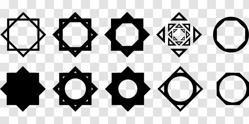Octagram Star Of Lakshmi Symbol Polygons In Art And Culture - Text Transparent PNG