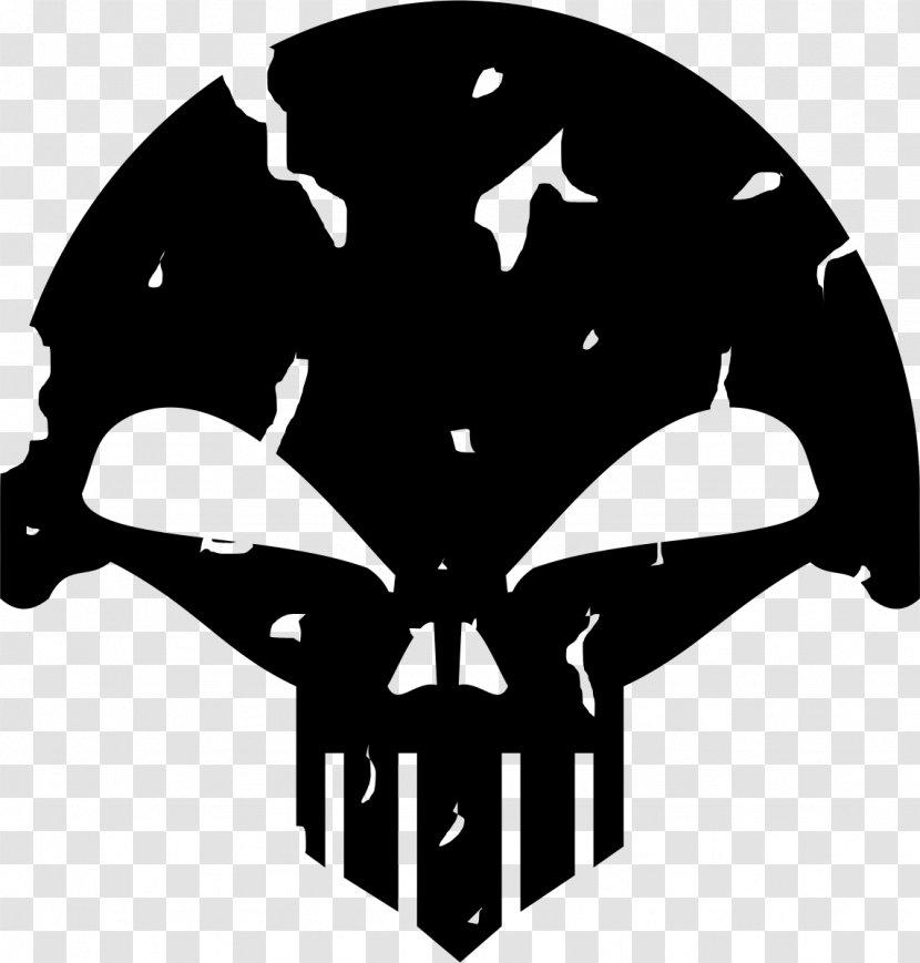 Black Silhouette White Headgear Clip Art - M Transparent PNG