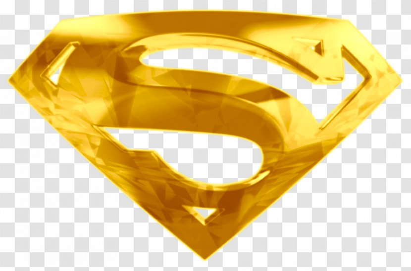 Superman Logo Steel John Henry Irons Gold Transparent Png