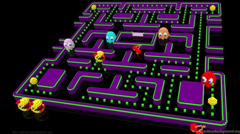 Ms Pac Man 2 The New Adventures Desktop Wallpaper Video Game Technology Pac Man Transparent Png