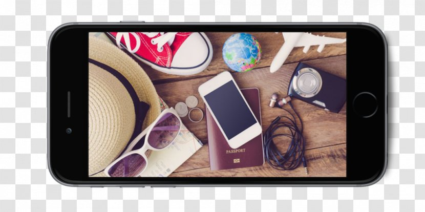 Travel Vacation Backpack Accommodation Mobile Phones - Portable Media Player - Iphone Transparent PNG