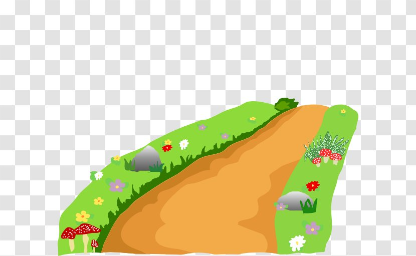 Clip Art and Grass Road