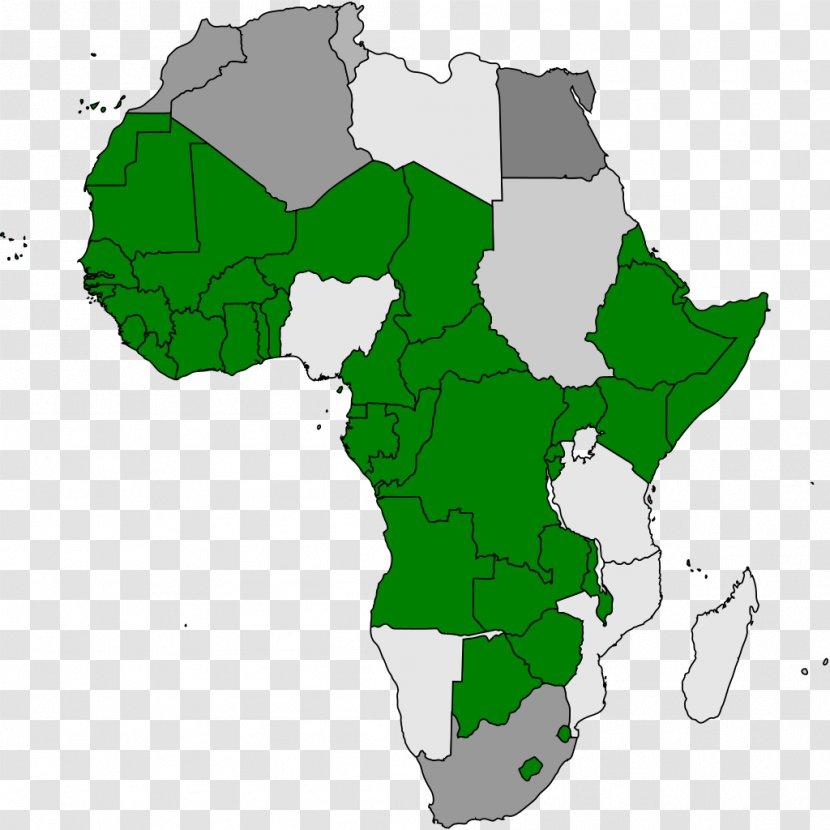 2009 Flu Pandemic 1918 Influenza - Green - Africa Map Transparent PNG