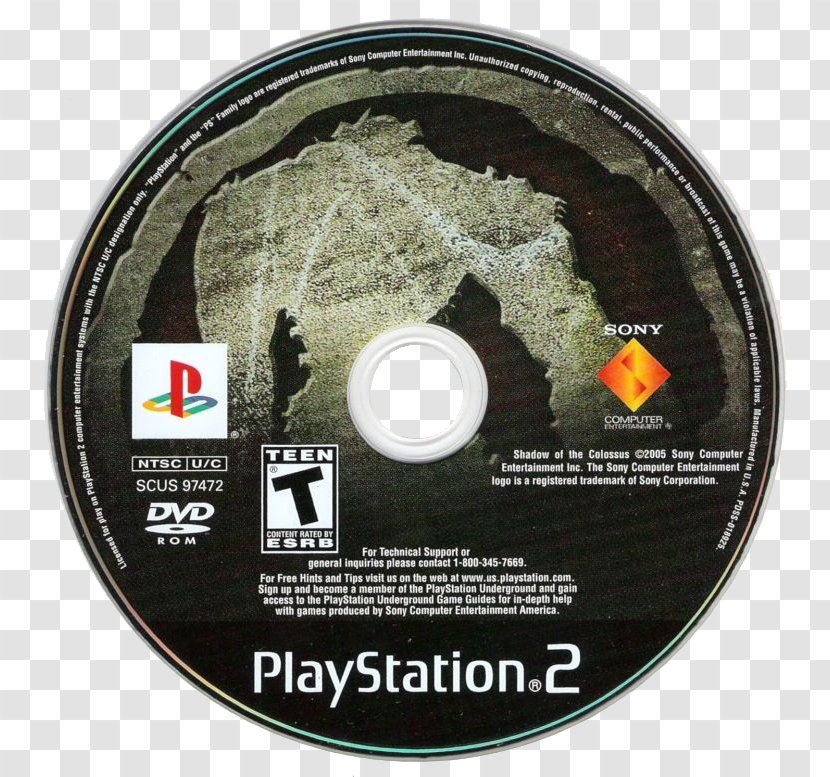 Playstation 2 Gamecube Tekken 5 Wii Shadow Of The Colossus Vast Expanse Transparent Png