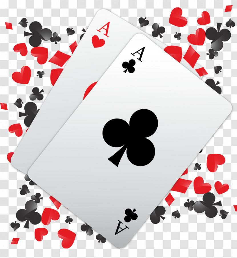 Card Game Playing Heart Font - Bali Hai Golf Club Transparent PNG