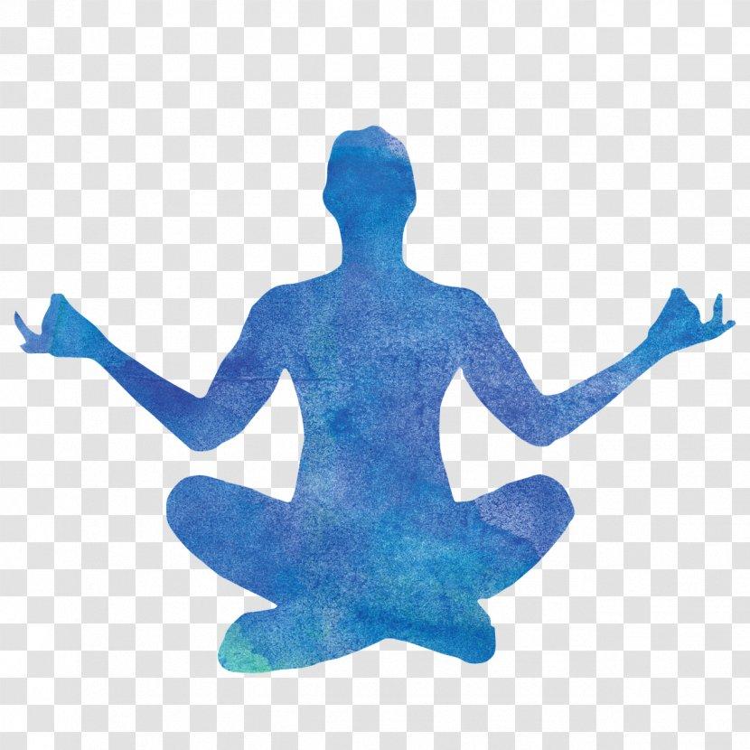 Yoga Silhouette Lotus Position Woman Asana Transparent Png