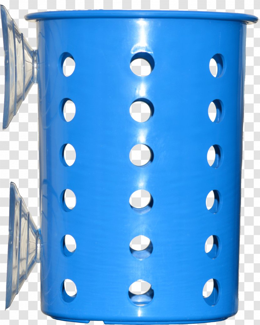 Mug Plastic Cobalt Blue Transparent PNG