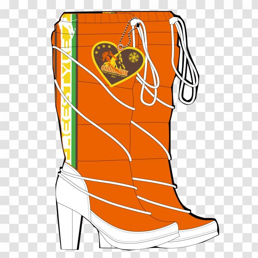Shoe Boot High-heeled Footwear Clip Art - Human Leg - Exquisite Fashion High Boots Transparent PNG