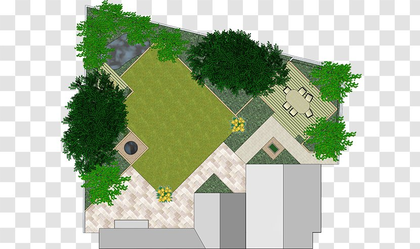 Sketchup Landscape Design Software Garden Computer House Architecture Transparent Png