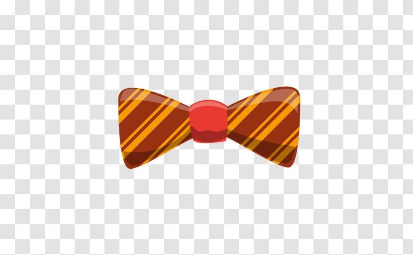 Bow Tie Shoelace Knot Black - Collar Transparent PNG