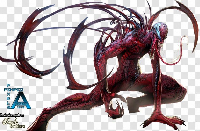 Venom Spider Man Separation Anxiety Maximum Carnage Rendering Venom Transparent Png
