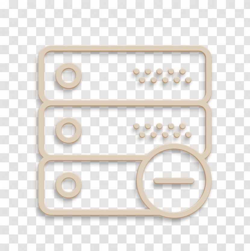 Server Icon Interaction Set Icon Transparent PNG