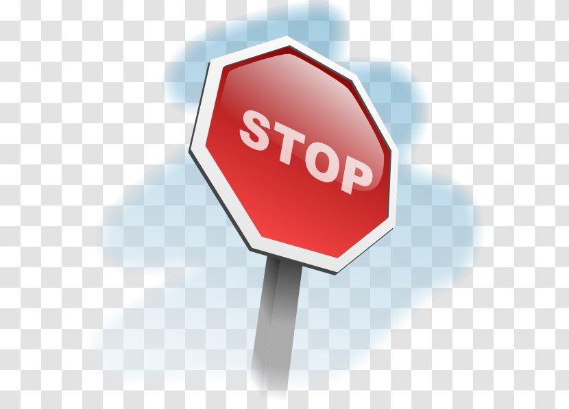 Stop Sign Traffic Cartoon Clip Art Transparent PNG
