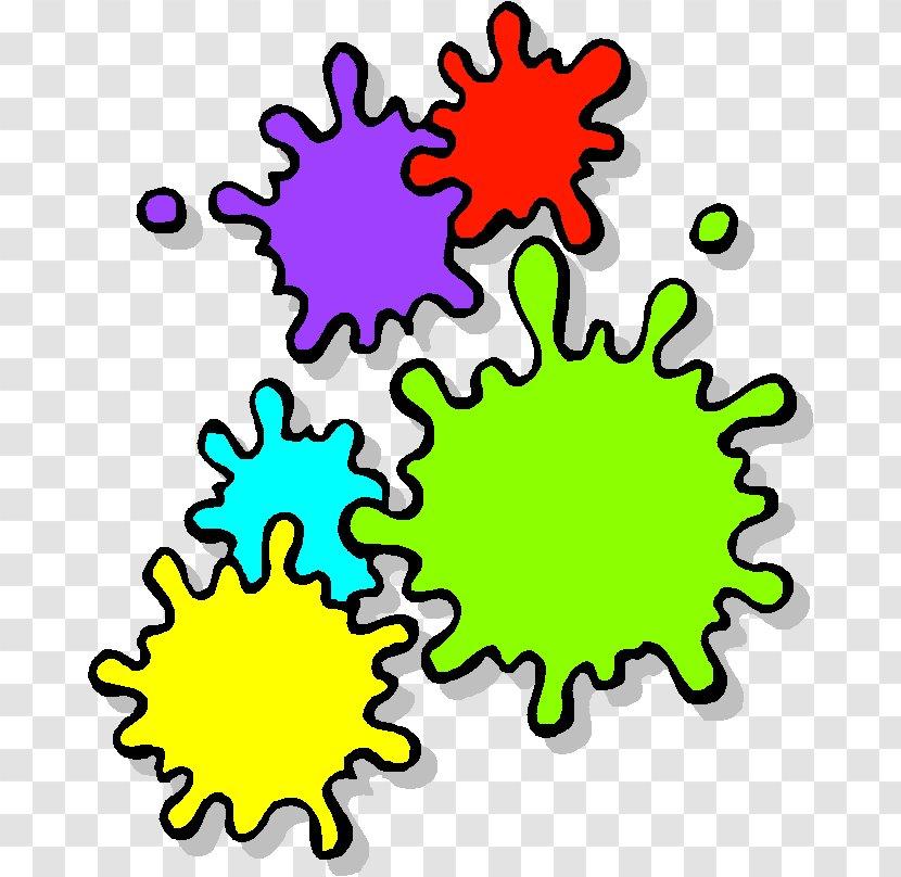Paintball Guns Clip Art Flower Paint Transparent Png