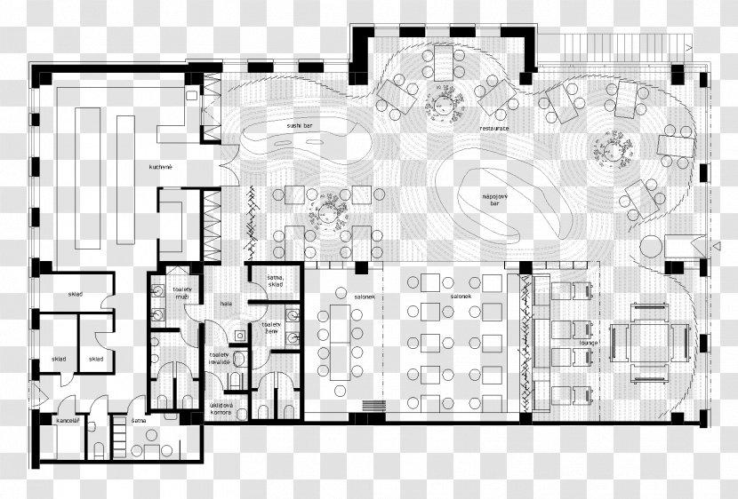 Floor Plan Restaurant Kitchen Design Hotel Transparent Png