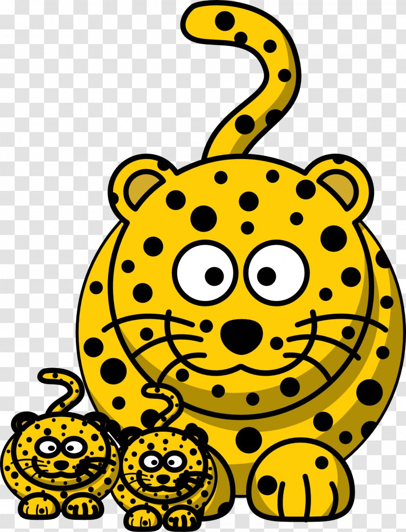 Baby Jungle Animals Clouded Leopard Clip Art - Neofelis - Cheetah Transparent PNG