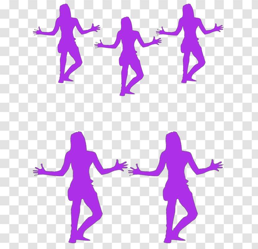 Jazz Dance Silhouette Clip Art Pink Western Transparent Png