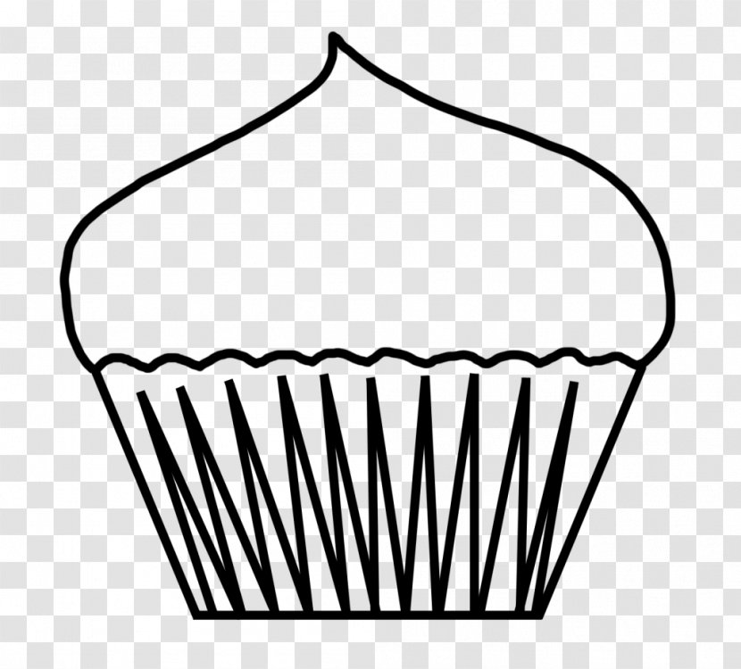 - Cupcake Coloring Book Muffin Drawing Clip Art - Food - Save On Transparent  PNG