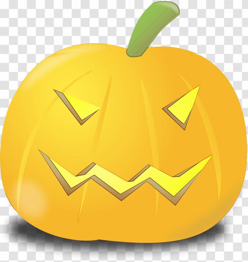 Happy Halloween Logo Yellow Transparent Png