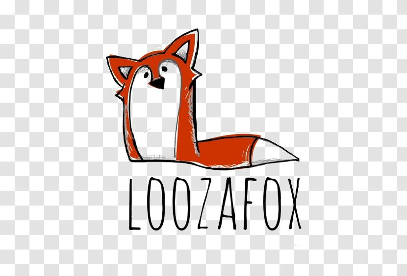 Red Fox Logo Drawing Illustration - Photography Transparent PNG