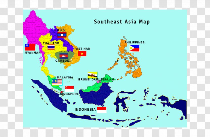 Association Of Southeast Asian Nations Cambodia Vietnam Burma Country Map Transparent Png