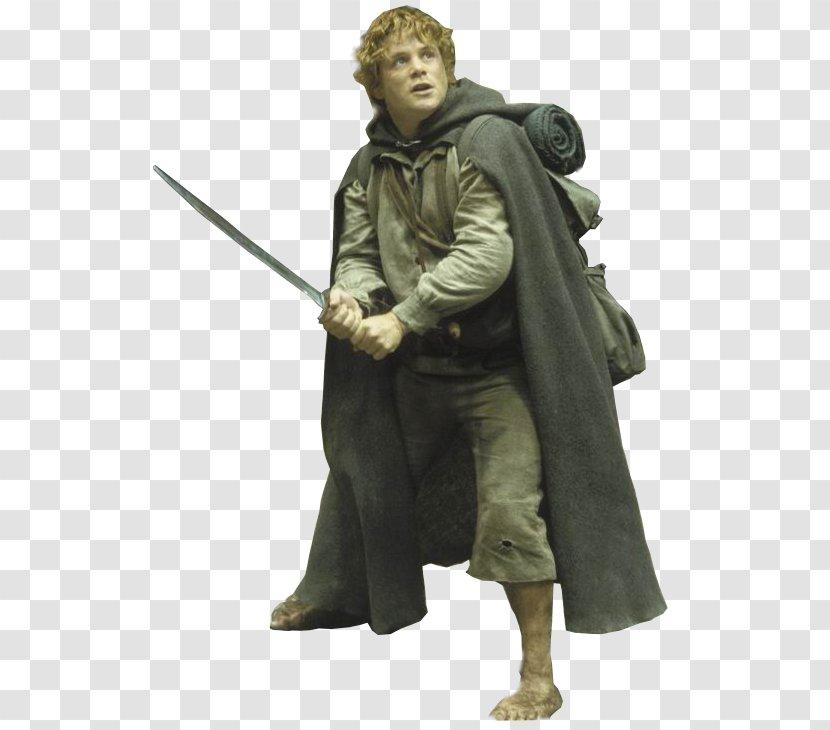 Samwise Gamgee Frodo Baggins Peregrin Took Galadriel Meriadoc Brandybuck Sean Astin Lord Of The Rings Transparent