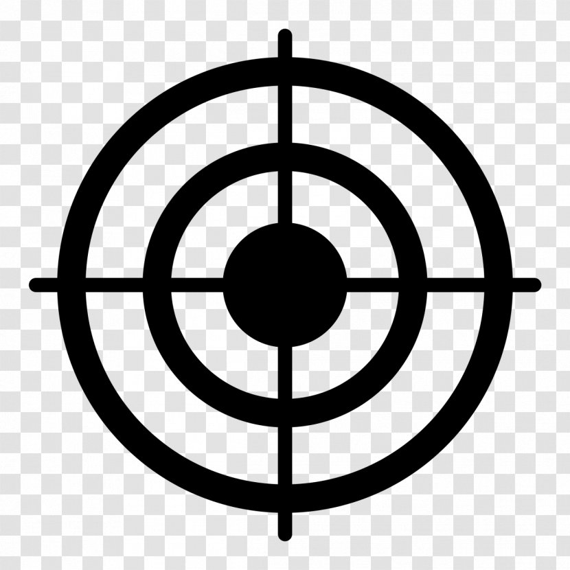 Vector Graphics Clip Art Shooting Targets Bullseye Parallel Target Transparent Background Transparent Png