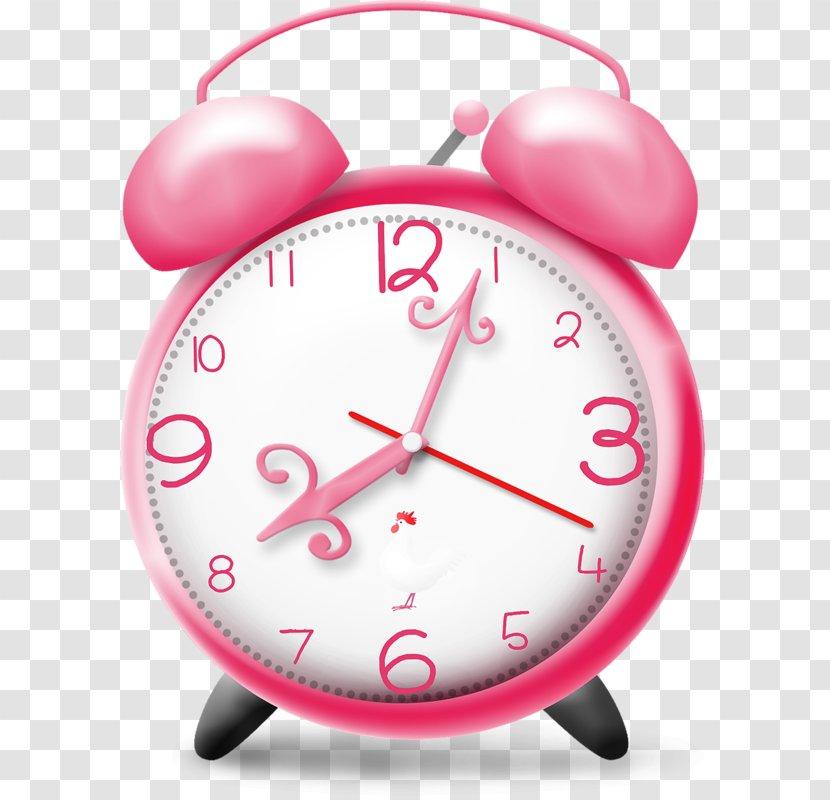 Alarm Clock Cuckoo Clip Art Free Pink Transparent Png
