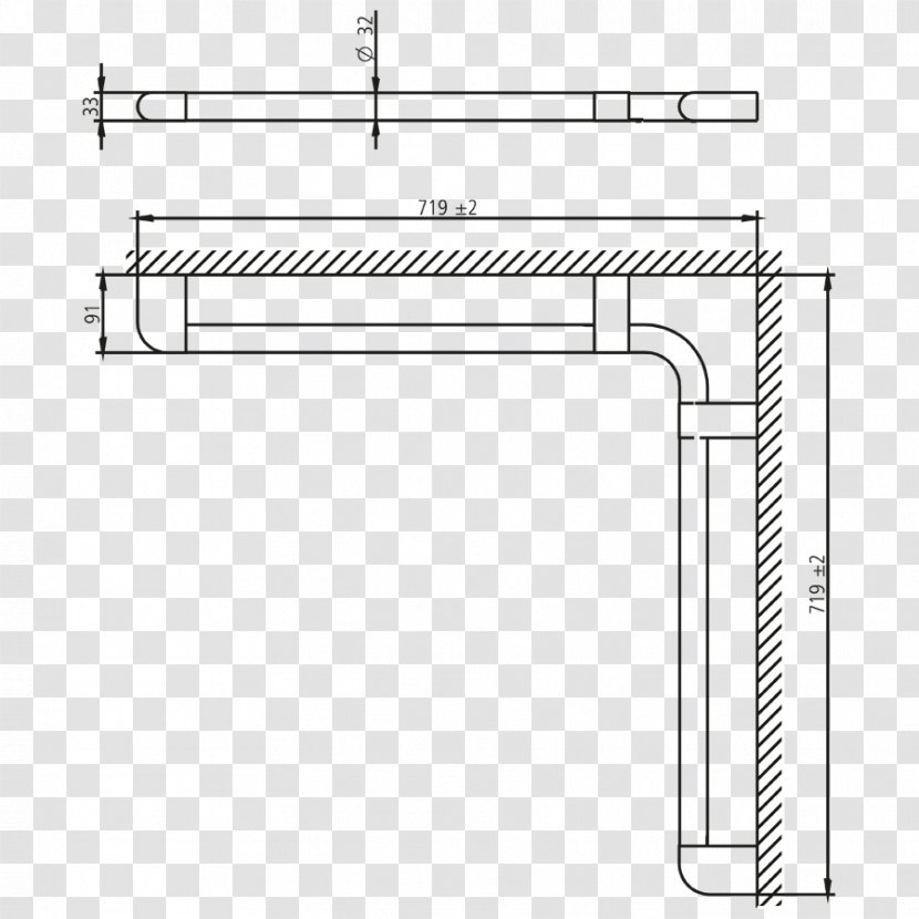 Drawing Line Diagram Angle - Rectangle Transparent PNG