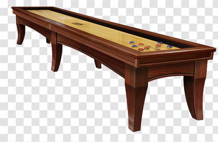 Table Shovelboard Deck Billiards Recreation Room Transparent PNG