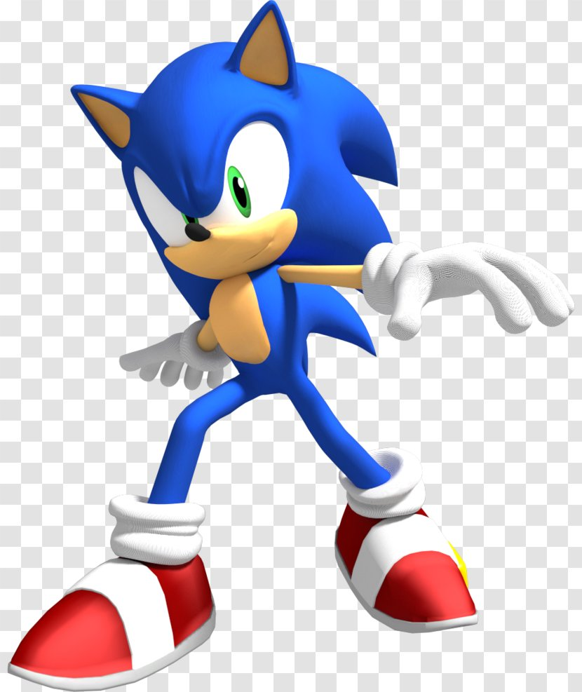 Sonic The Hedgehog 2 Colors Mario At Olympic Games 3d Shadow Transparent Png