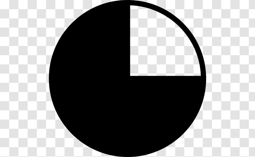 Pie Chart Statistics - Monochrome Photography - Black And White Transparent PNG