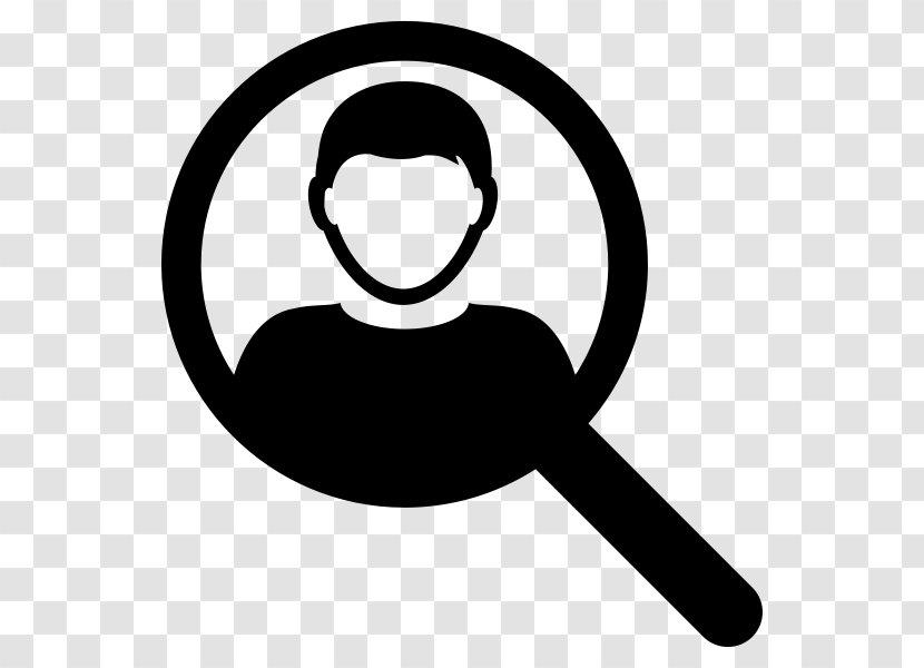 Black Line Background - User Profile - Logo Silhouette Transparent PNG