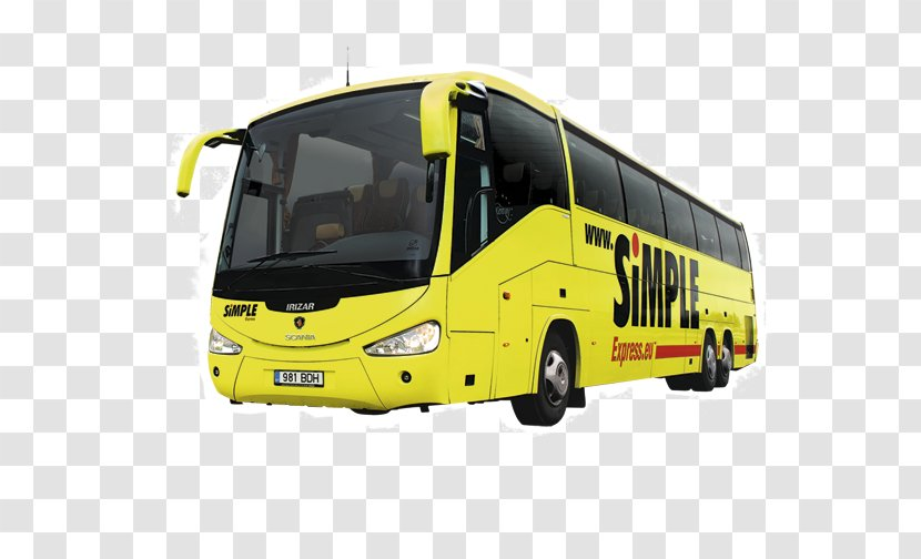 Tour Bus Service Rakvere Küttesalong Public Transport Jaama Puiestee - Motor Vehicle Transparent PNG