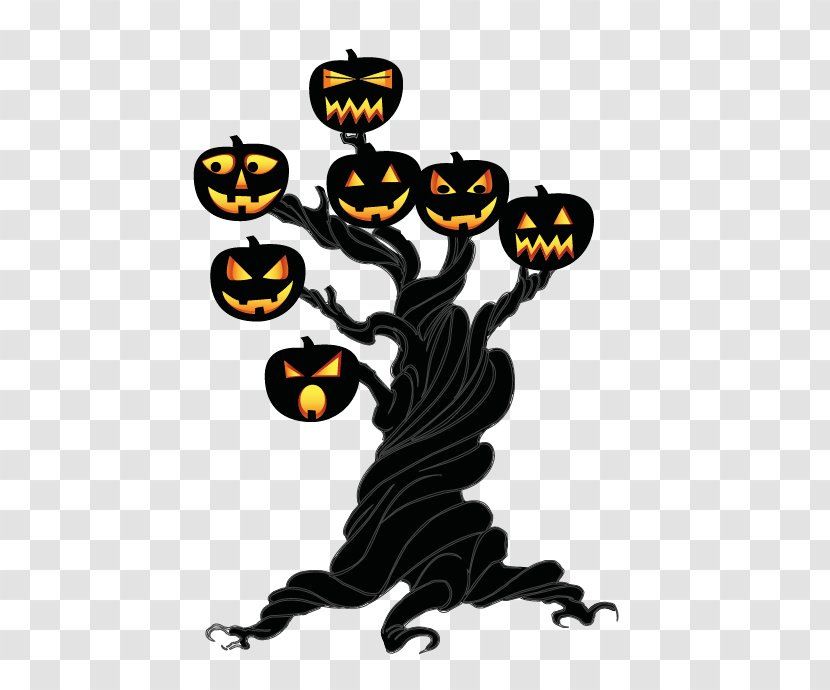 Halloween Clothing Taobao Canvas - Tree Transparent PNG