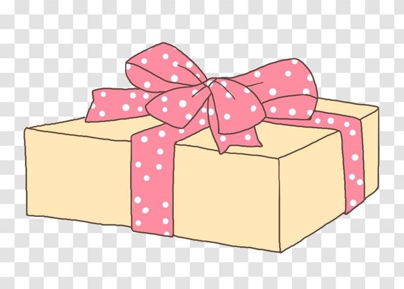Gift Box Pink Drawing Ribbon Stock Image Transparent Png