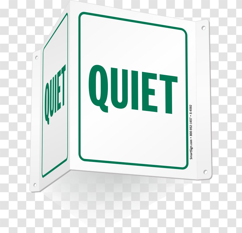 Quiet! Sign YouTube Marketing Graphic Design - Art Transparent PNG