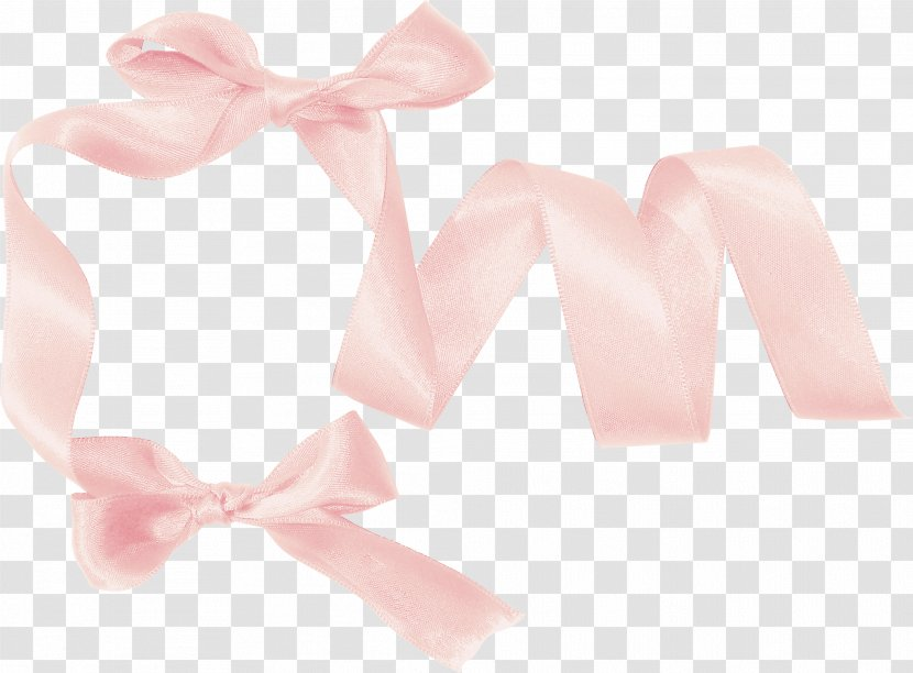 Pink Ribbon - Tie Transparent PNG