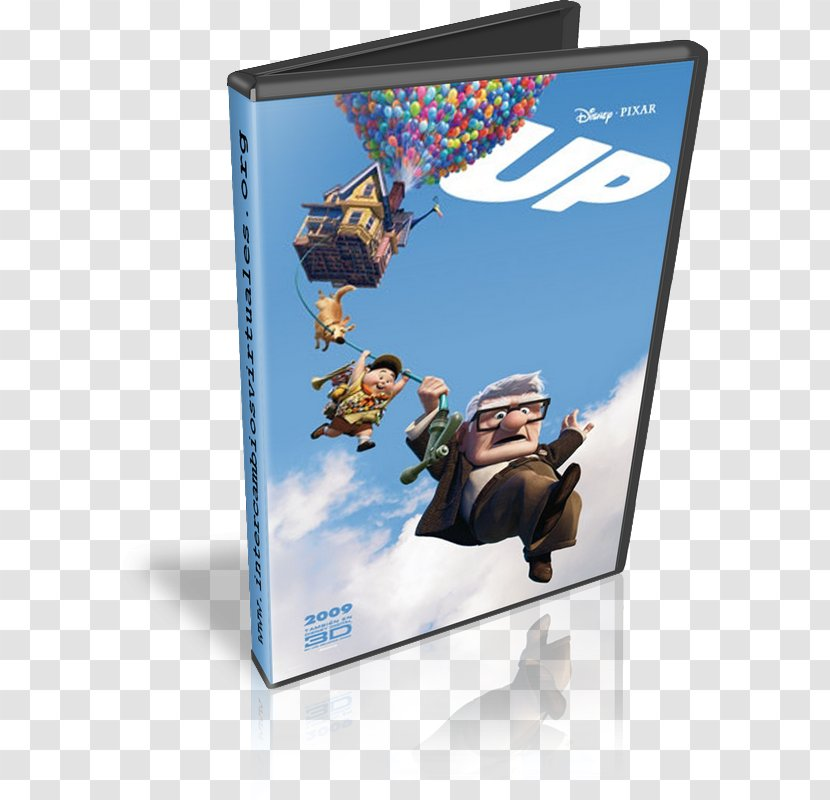 Animated Film Pixar Poster Cinema - Carl Fredricksen Transparent PNG