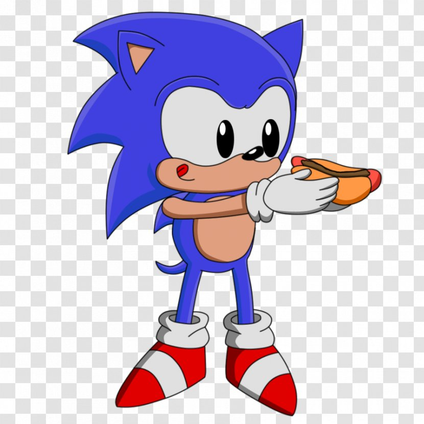 Chili Dog Con Carne Hot Sonic The Hedgehog Drive In Cartoon Transparent Png