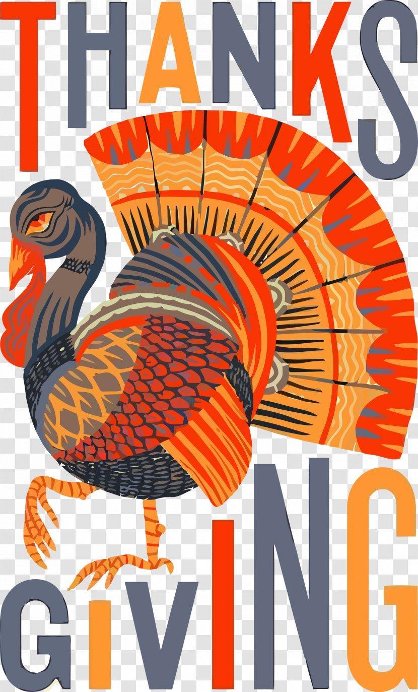 Thanksgiving Turkey - Beak Transparent PNG