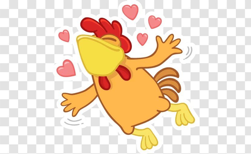 Rooster Telegram Sticker Messaging Apps Clip Art Food Teeth Games Transparent Png