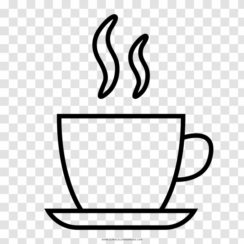 Coffee Cup Espresso Cafe Mug Drawing Transparent Png