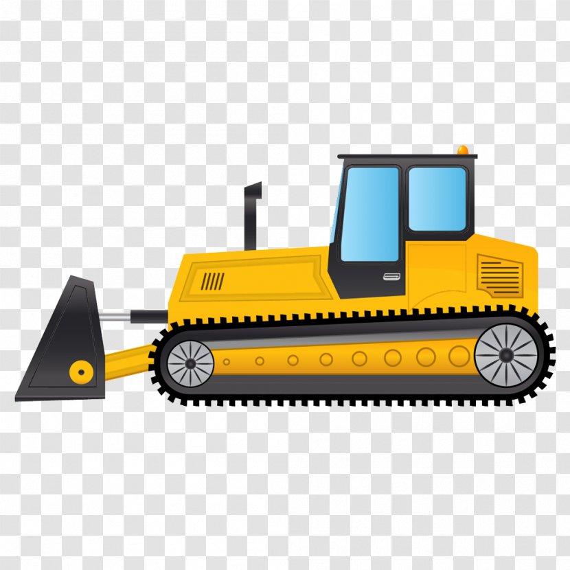 Bulldozer Machine Caterpillar Inc. Excavator - Mode Of Transport Transparent PNG