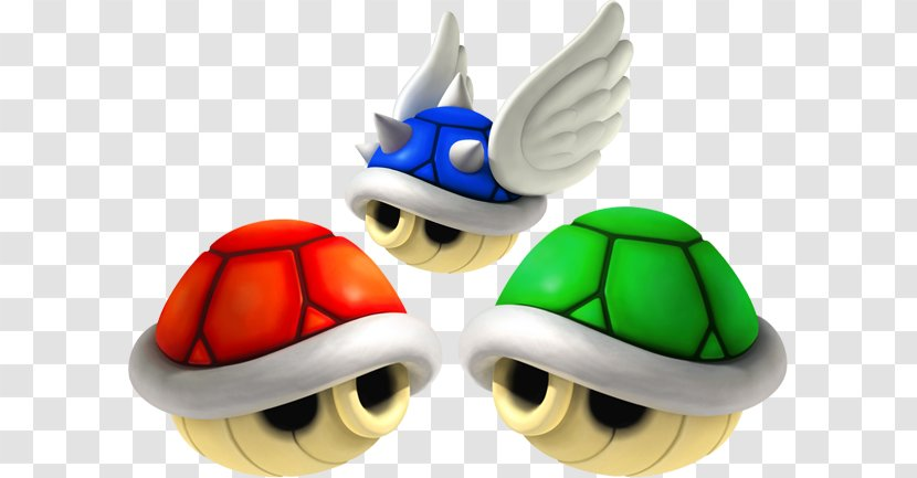 Mario Kart 7 Super Bros Wii 64 Blue Shell Transparent Png