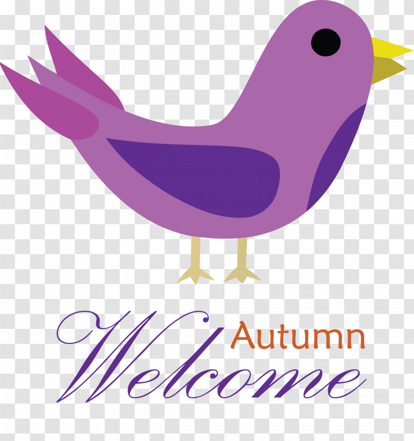 Welcome Autumn Transparent PNG