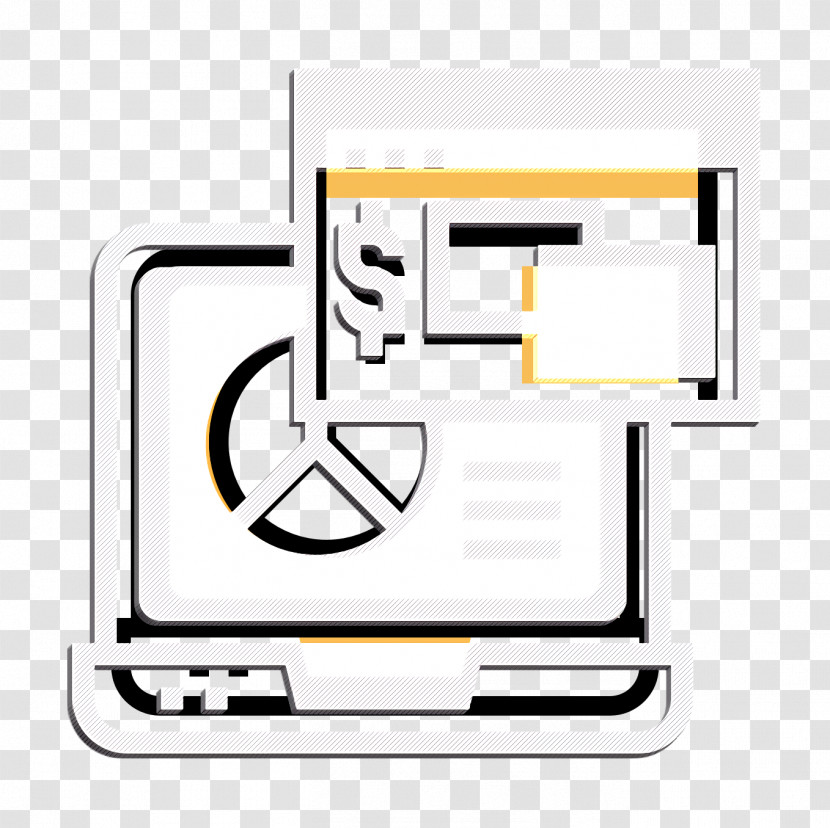 Business And Finance Icon Blockchain Icon Laptop Icon Transparent PNG